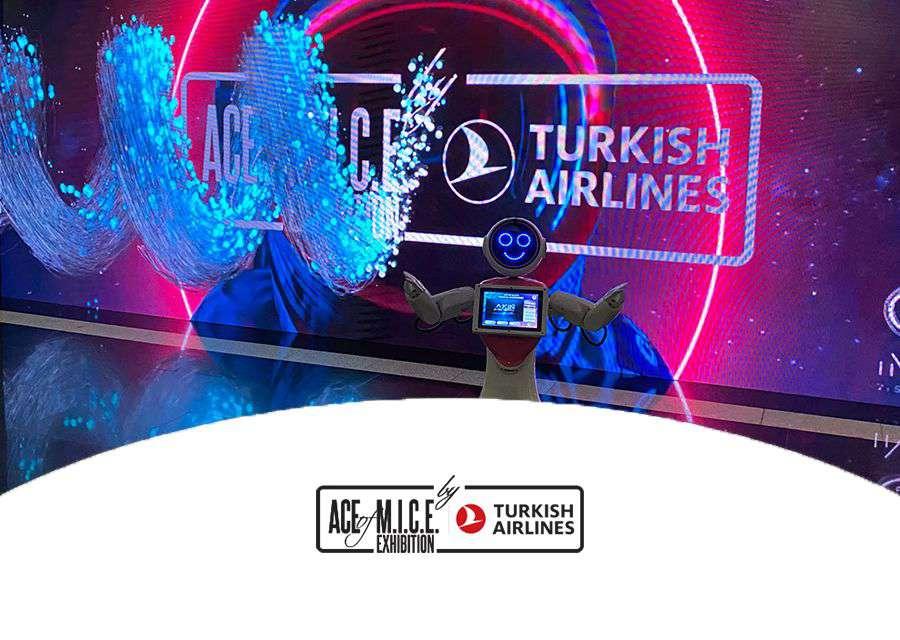 AKINROBOTICS ACE of M.I.C.E.EXHIBITION BY TURKISH AIRLINES 2021'DE...