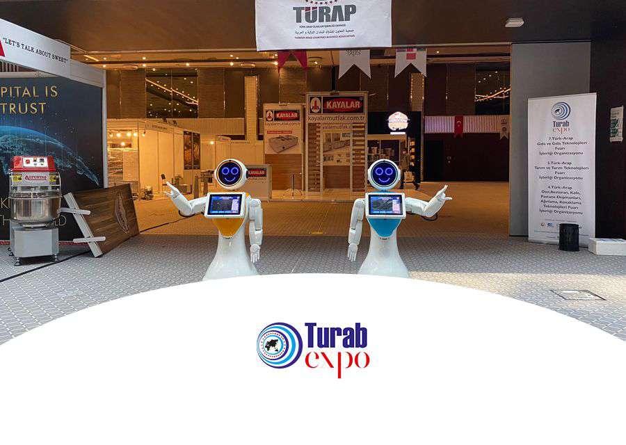 AKINROBOTICS ULUSLARARASI 5.TÜRK-ARAP TARIM VE TARIM TEKNOLOJİLERİ FUARI'NDA...